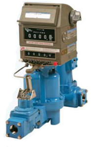 Liquidynamics DEF Stainless Steel Meter w/ Mechanical Register and Printer