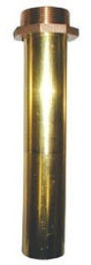 Brass Threaded Nozzle Tubes - 1-1/4 in. NPT - 1-1/8 in. - Brass