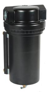 Dixon Norgren Series 1 3/4 in. Jumbo Airline Filter w/Metal Bowl & Sight Glass, Manual Drain - 325 SCFM
