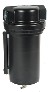 Dixon Norgren Series 1 1 in. Jumbo Airline Filter w/Metal Bowl & Sight Glass, Manual Drain - 425 SCFM