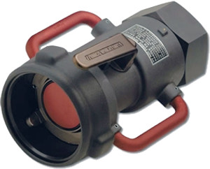 Emco Wheaton 3 in. Female NPT  Dry-Break Straight Coupler w/ Viton Seals - Straight w/ Swivel