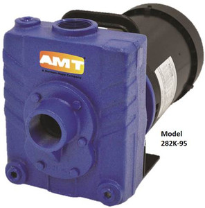 AMT 1 1/2 in. Cast Iron Self-Priming Centrifugal Pump - D - 3 - 230/460 3PH - 120 - 1 1/2 in.