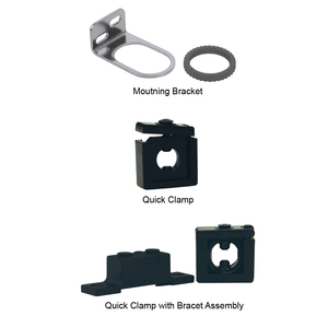 Dixon Series 1 Quick-Clamp & Bracket Assembly - Quick Clamp & Bracket Assembly - R72, L72, F72 - R72, L72, F72
