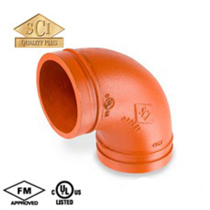 Smith Cooper COOPLOK 3 in. Grooved 90° Elbow - Standard Radius