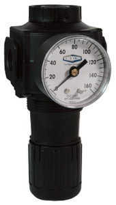 Dixon Norgren Series 1 3/4 in. Standard Regulator With Gauge - 220 SCFM