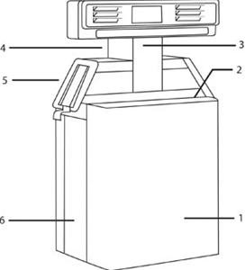 Gilbarco Highline - H111B Lower Cabinet Top Cover, S/S - 2