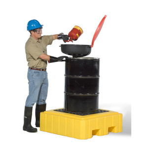 UltraTech Ultra-Spill Pallet Plus with Drain 1 Drum