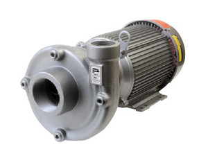 AMT Heavy Duty Straight Centrifugal Pump - Stainless Steel, 3 in. Suction x 3 in. Discharge - D - 7.5 - 230/460 - 3 PH - 440 - 3 in. x 3 in.