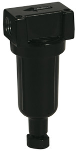 Dixon Wilkerson 1/4 in. F03 Miniature Filter with Metal Bowl - Auto Drain