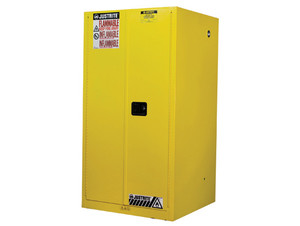 Justrite Sure-Grip® EX Classic Self-Closing 60 Gal Safety Cabinets For Flammables