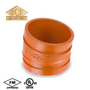 Smith Cooper 4 in. Grooved 11 1/4° Elbow - Standard Radius