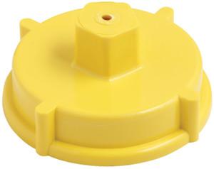 Dixon Powhatan 4 1/2 in. NH(NST) Plastic Hydrant Cap w/ Chain