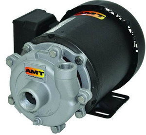 AMT/Gorman Rupp Small Cast Iron Straight Centrifugal Pumps - A - 1/3 - 115/230 1 PH - 34 - 3/4 in. x 1/2 in.