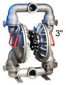ALL-FLO 3 in. Aluminum Air Diaphragm Pump