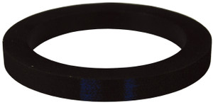 Dixon 4 in. Extra Thick Buna-N Cam & Groove Gasket (Black)