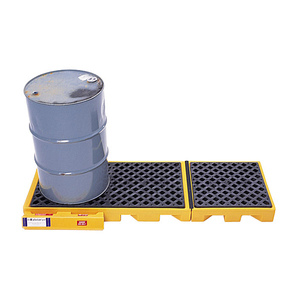 UltraTech International Ultra-Inline Spill Deck - 4-Drum - 104 in. x 25 7/8 in. x 5 3/4 in. - 99 gallons