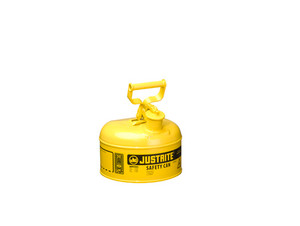 Justrite Type I 1 Gal Safety Gas Can (Yellow)