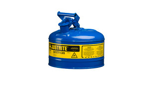 Justrite Type I 2.5 Gas Safety Gas Can (Blue)