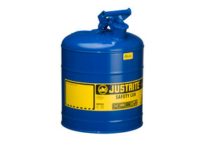 Justrite 7150300 Type I 5 Gallon Safety Gas Can (Blue)