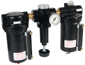 Wilkerson C31 3/4 in. Jumbo Combo Unit with Metal Bowl & Sight Glass - Auto Drain