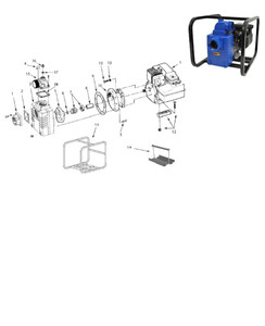 "AMT 3/4"" Shaft Seal (Viton) for 327 & 339 Series Solids Handling Pumps - 3/4"" Shaft Seal - Viton - 7"