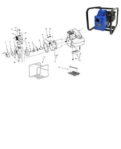 "AMT 1"" Shaft Seal (Buna-N) for 327 & 339 Series Solids Handling Pumps - 1"" Shaft Seal - Buna-N - 7"