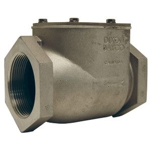 Dixon Bayco 4040 Series 4 in. Female NPT High Flow Swing Check Valves w/ EPDM Seal