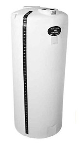 Centennial Molding Poly Vertical Storage Tank - 300 - 43 in./ 59 in. - 6 in. - 1 1/2 in.