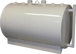 Certified Tank 2,000 Gallon 7 / 10 Gauge Double Wall UL142 Skid Tank