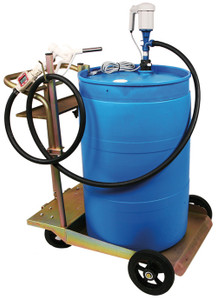 Liquidynamics 55 Gallon DEF Transfer System with In-Line Meter & Manual Nozzle