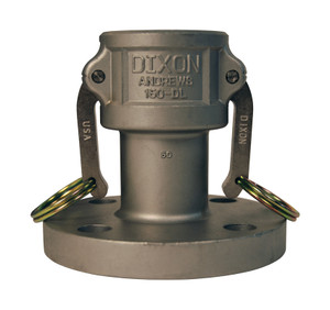 Dixon 1 in. Stainless Steel Coupler x 150# Flange Fitting
