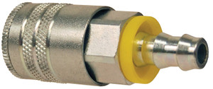 Dixon Steel Air Chief Industrial Coupler 3/8 in. Push-On Hose Barb x 3/8 in. Body