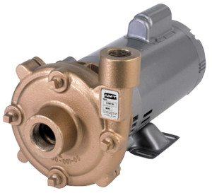 AMT Cast Bronze High Head Straight Centrifugal Pumps - A - 3/4 - 230/460 - 3 PH - 42 - 1 1/4 in. x 1 in.