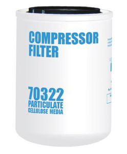 Cim-Tek 70322 Replacement Compressor Spin-On Filter - Cellulose