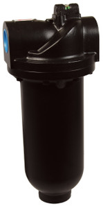 Dixon Wilkerson 2 in. F35 Heavy Duty Jumbo Filter with Metal Bowl - Manual Drain