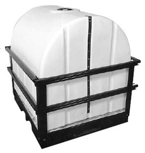 Centennial Molding Poly Skid And Tank Unit 500 Gallons - 500 - 50 in. - 46 in. - 79 in.