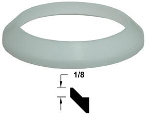 Dixon Silicone Bevel Seat Gaskets (White)
