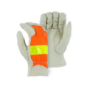 Majestic High Visibility Large Thinsulate Driver Gloves
