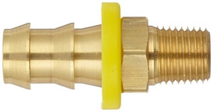Dixon 1/4 in. Male NPT x 3/8 in. Push-on Hose Barb