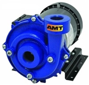 AMT/Gorman Rupp Cast Iron Straight Centrifugal End Suction Chemical Pump - D - 1 1/2 - 208-230/460-3PH - 110 - 1 1/4 in.