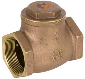Smith Cooper 3/4 in. Lead Free Brass 200 WOG Check Valve - Threaded