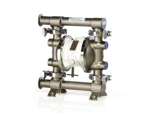 Graco 515 FDA-Compliant 1/2 in. Double Diaphragm Sanitary Pumps w/ SST/EPDM O-Rings, Santoprene Balls & Diaphragms