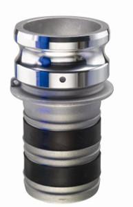 EZ-Seal Leak Resistant Fittings - Part E Male Adapter x Hose Shank - 1 1/2 in.