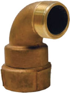Dixon Powhatan  1 1/2 in. Female NPT x 1 1/2 in. Male NH (NST) Continuous Swiveling Elbows
