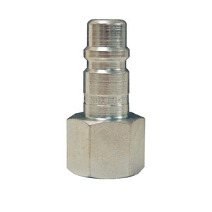 Dixon Air Chief Industrial Steel Female Threaded Plug 3/8 in. Female NPT x 1/4 in. Body