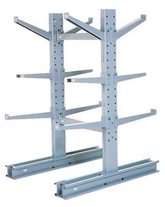 MECO Medium Duty Double Sided Cantilever Racks - 8 - 10,600 - 54 - 24 - 16