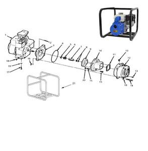 "AMT/Gorman Rupp 316 Series Solids Handling Pump Parts - 3/4"" Shaft Seal - Viton - 5 6"