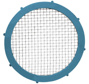 Rubber Fab 1 1/2 in. Buna-N Metal Detectable Screen Camlock Gaskets - 60 Mesh