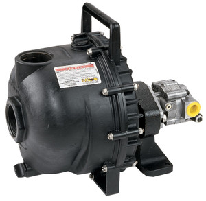 Banjo 3 in. Hydraulic Driven Polypropylene Pump - 12 HP, 300 GPM