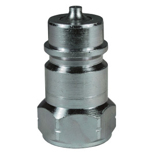 Dixon FTP 1 in. 2500 PSI Steel Ball Valve Plug ISO5675 w/ 1 in. - 11 1/2 Female NPTF Threads